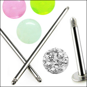 Loose Body Jewelry Parts
